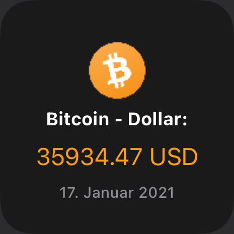 Bitcoin - USD price
